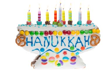 Linda's Sweet Menorah Gingerbread Kit 2