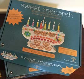 Linda's Sweet Menorah Gingerbread Kit 4